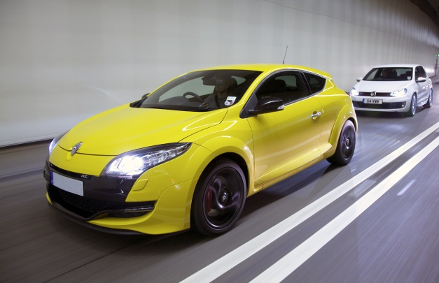 Superchips Bluefin used to remap the Renaultsport Megane 250