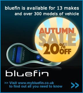 Autumn 2012 sale on Superchips' Bluefin ECU remaps