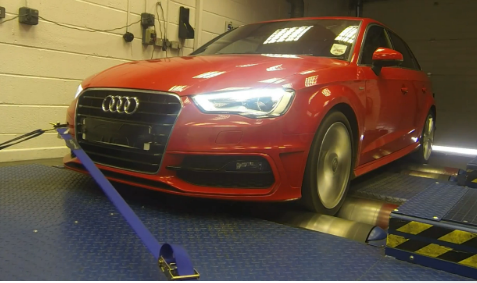 Audi Dyno Sized